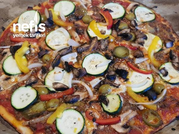 Taş Tepside Kıymalı Pizza