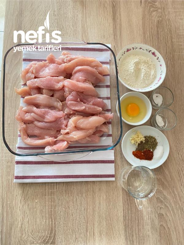 Tavuk Kalamar(Tarator sos eşliğinde)