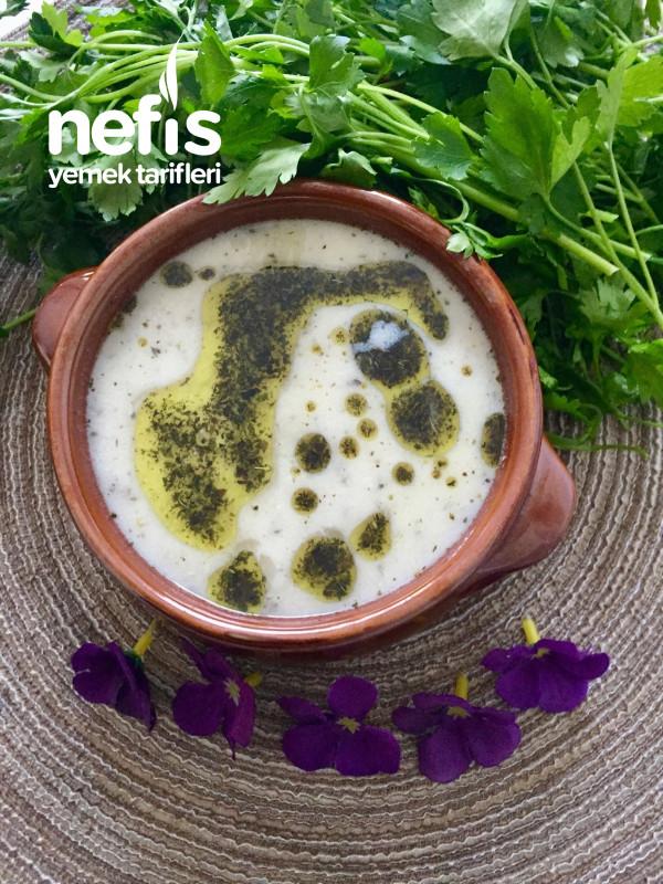 Yarmalı Yoğurt Çorbası -çok Lezzetli Ve Çok Sağlıklı