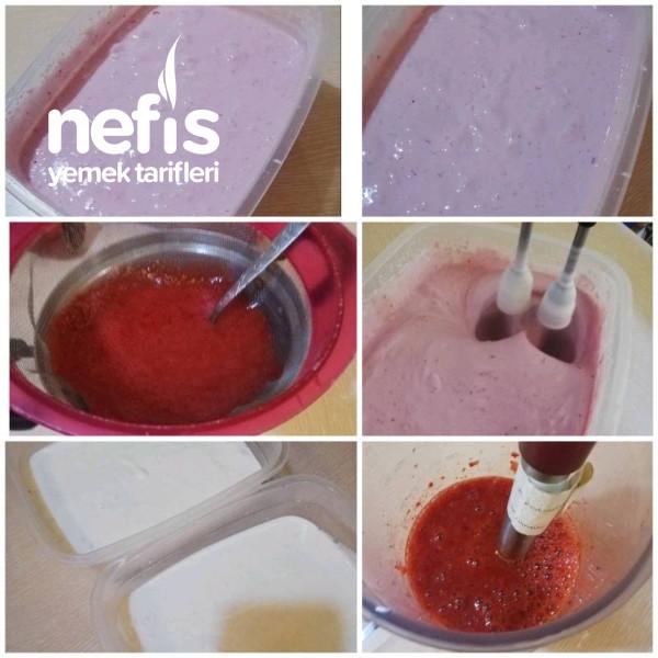 Limonlu & Çilekli Dondurma (Deneyin Pişman Olmazsınız)