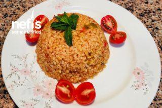 Patlıcanlı Bulgur Pilavı Mutlaka Denemelisiniz Tarifi