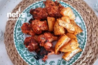 Tavuk Kanat (Fırında Mangal Tadında) Tarifi