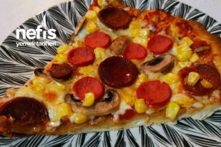 Büyük Boy Pizza Tarifi