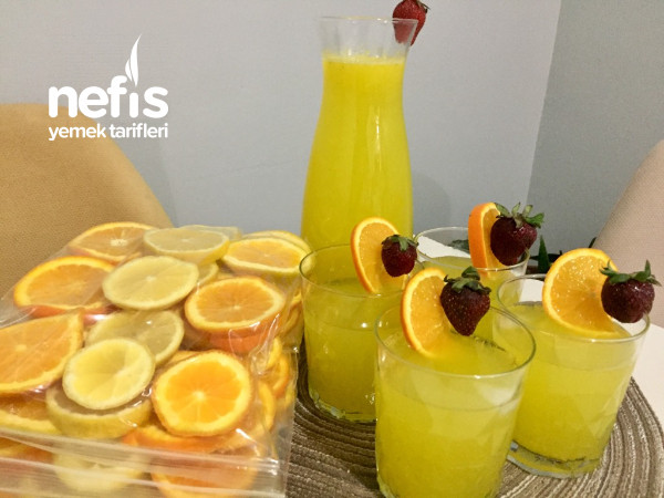 Buzluğa Limonata ve limonata tarifi
