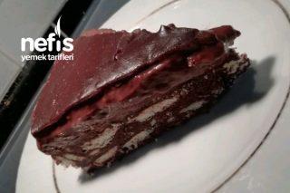 Çikolata Soslu Mozaik Pasta Tarifi