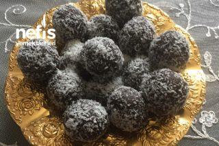 Çok Az Malzemeli 5 Dakikda Şekersiz Muzlu Turufflar Tarifi