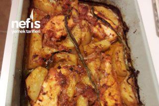 Fırında Mangal Lezzetinde Marineli Terbiyeli Tavuk Tarifi