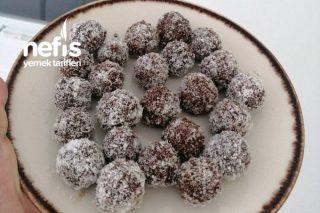 Kayısılı Diyete Uygun Çikolata Toplar Tarifi