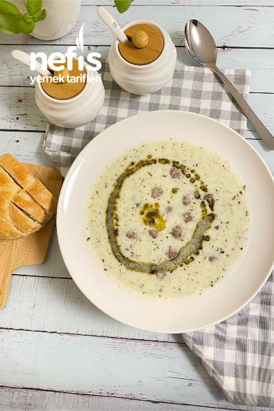 Köfteli Yoğurt Çorbası