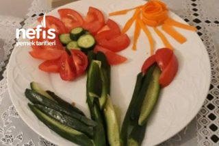 Sofranızda Salatanız Çiçek Açsın Tarifi