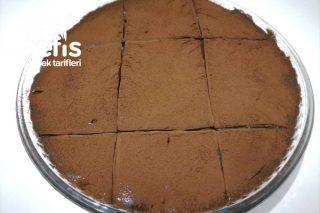 Bebek Bisküvili Borcam Pastası (10 Dakikada) Tarifi