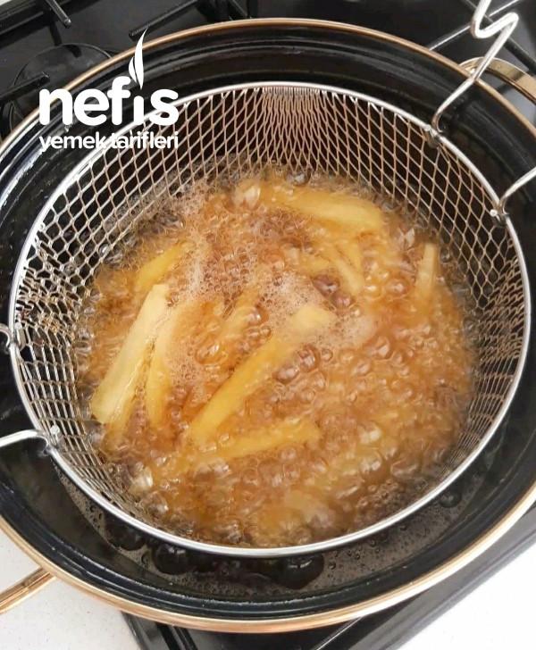 Çatal Çatal Yedirten Terbiyeli Patates Kızartması