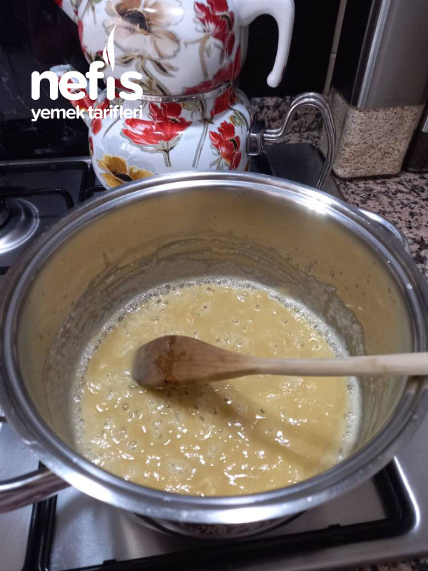 Labneli ,sütlü Köz Patlıcan Çorbası