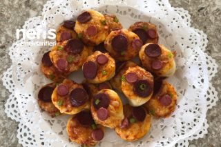 Mini Lokmalık Pizza Tarifi