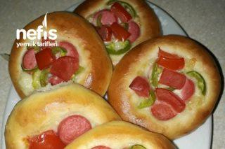 Minik Puf Puf Pizza Tarifi