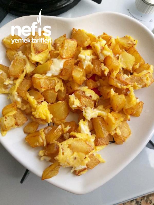 Patatesli Yumurta (Yumurta Sevmeyen Bebekler Için)