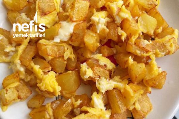 Patatesli Yumurta (Yumurta Sevmeyen Bebekler İçin)