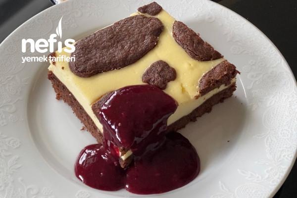 """Rus Pastası """"zupfkuchen"""" (Cheesecake Tadında)"""