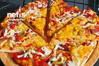 Yumuşacık Hamuruyla Pizza Tarifi