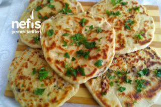 Yumuşacık Peynirli Bazlama Tarifi (Videolu)