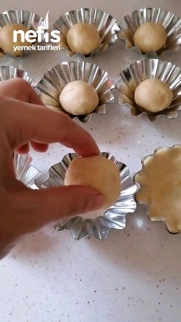 Elmalı mini  turta