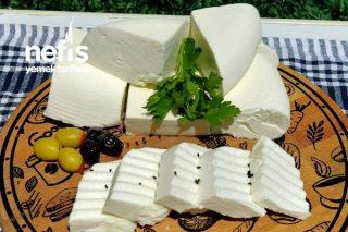 Ev Yapımı Klasik Beyaz Peynir Tarifi