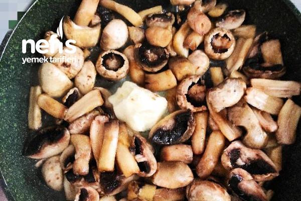 Hardallı Patates Ve Mantar