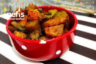 Hardallı Patates Ve Mantar Tarifi