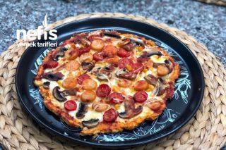 Karnabaharlı, Unsuz Sağlıklı Pizza Tabanı Tarifi