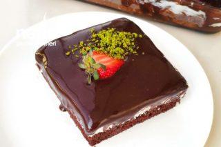 Özel Çikolata Sosu İle Ağlayan Pasta (Videolu) Tarifi