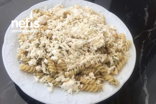 Peynirli Diyet Makarna (Diyetisyen Tavsiyesi)