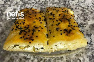 Peynirli Rulo Börek Baklava Yufkası İle Tarifi