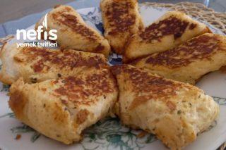 Tost Ekmeğinden Pratik Börek Tarifi