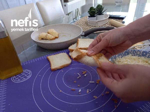 Tost Ekmeğinden Pratik Börek