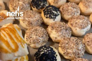 Tuzlu Kuru Pasta (Yoğurtsuz Sütsüz Yumurtasız) Tarifi