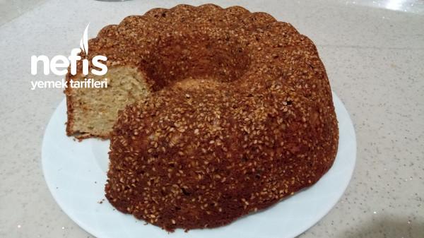 Bol Susamlı Tahinli Kek