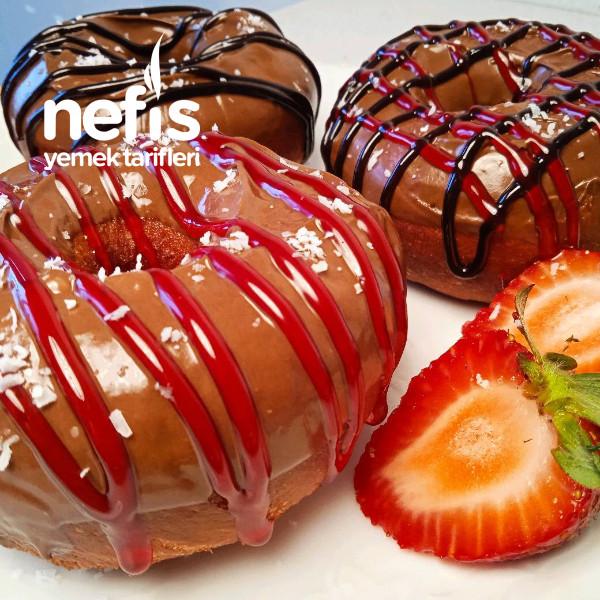 Donut (bu tarifim ve gorsellerim cocuklara özel)