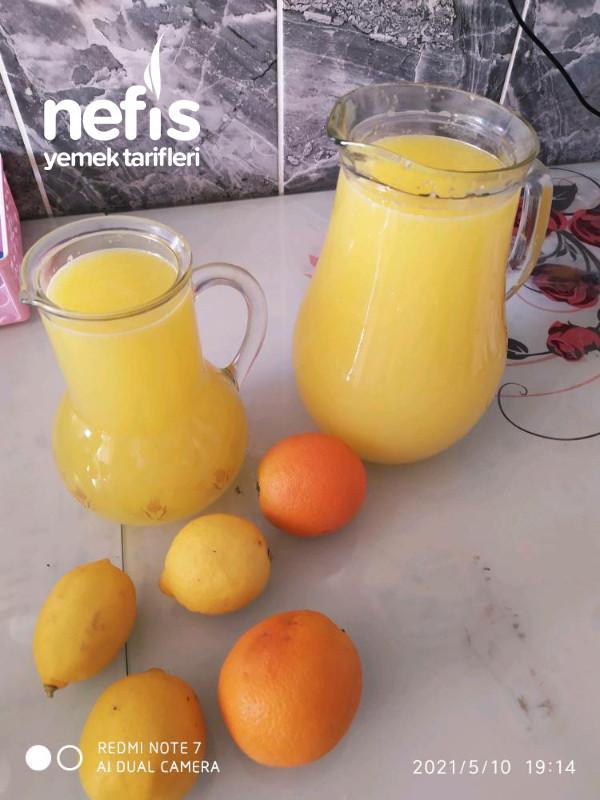 Ev Yapımı Limonata