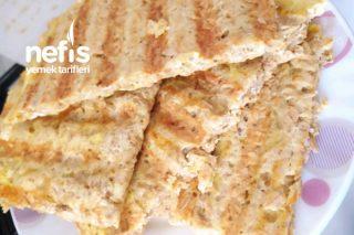 Fit Tost (Diyet Ve Sağlık Dostu Yağsız Unsuz Tost Ekmeği) Tarifi