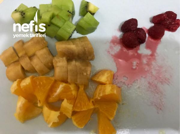 Meyveli Aşırı Lezzetli Güllaç Dolama