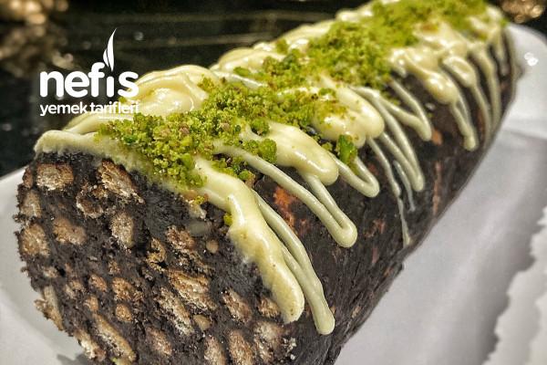Mis Gibi Portakal Kokulu Mozaik Pasta