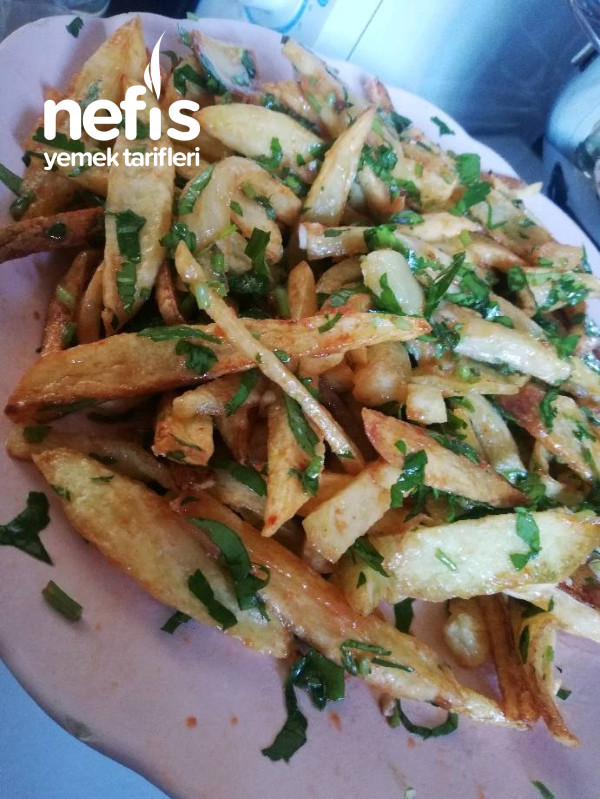 Terbiyeli Patates Kızartması