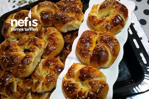 Tereyağlı Pastane Açması (Mahlepli)