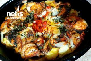Fırında Somon Patates Tarifi