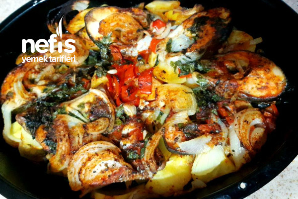 Fırında Somon Patates