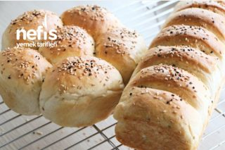 Kek Kalıbında Sütlü Ekmek (Videolu) Tarifi