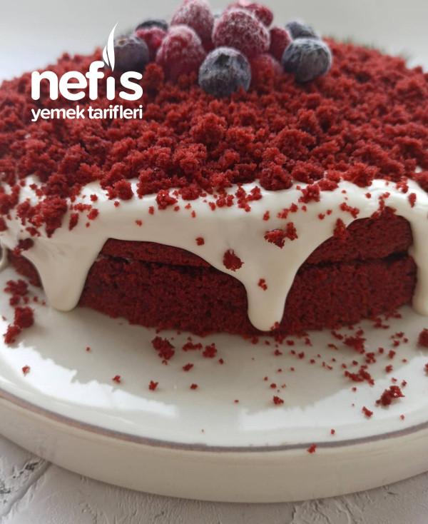 Red Velvet Pasta – Kırmızı Kadife Dokulu Past