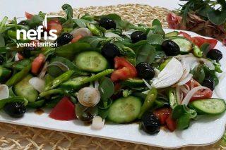 Semizotlu Bahçe Salatası Tarifi