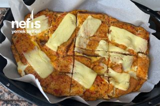 Yumurtalı Ekmek (Pizza) Tarifi