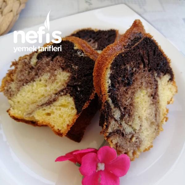 İki Renkli Kek(mermer Kek)
